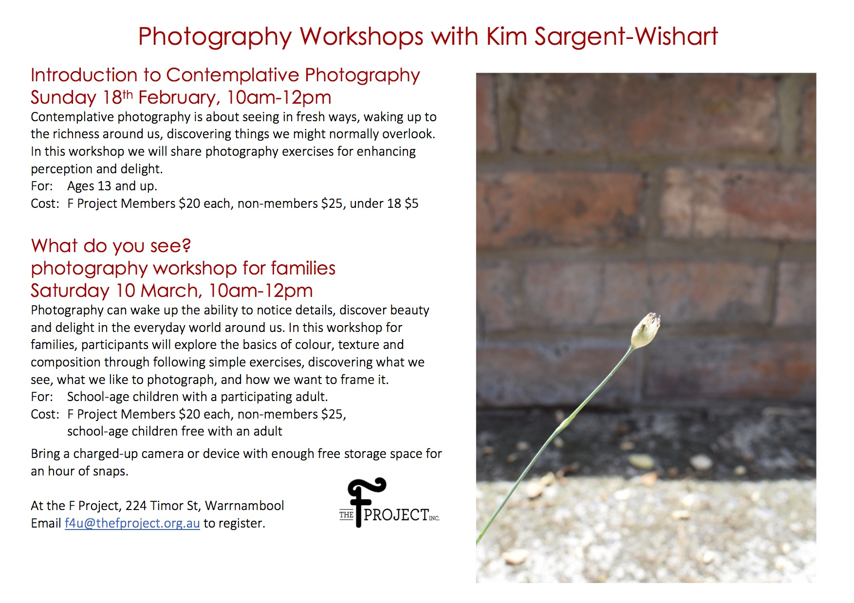KSW photo workshops flyer option 2